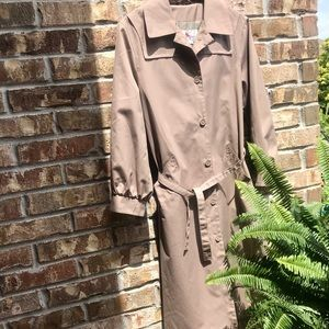 Vintage All Weather Trench Coat Raincoat